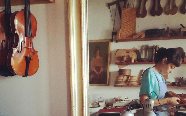 adele sbernini violin maker