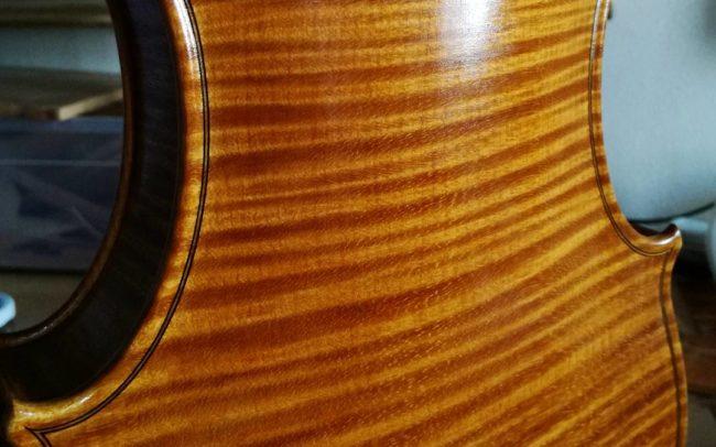 fine italian violin maple